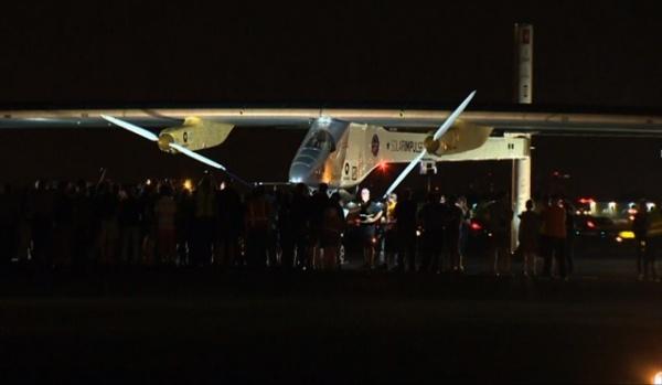 Solar Impulse JFK