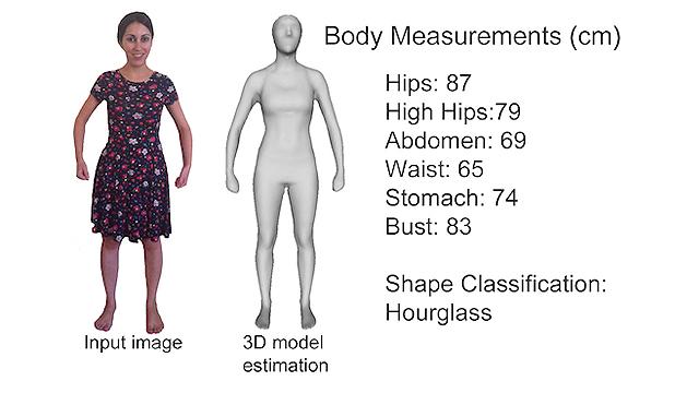 3D卷尺助你网购选衣服