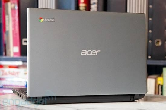 宏碁C7 ChromeBook评测 除了便宜几乎无亮点