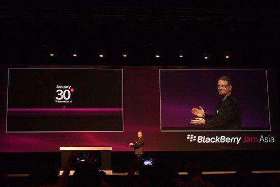 黑莓10系统明年1月30日正式发布 覆盖全触屏及全键盘设备