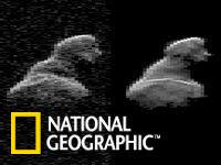 新的模拟图像(右)与雷达图像非常相似