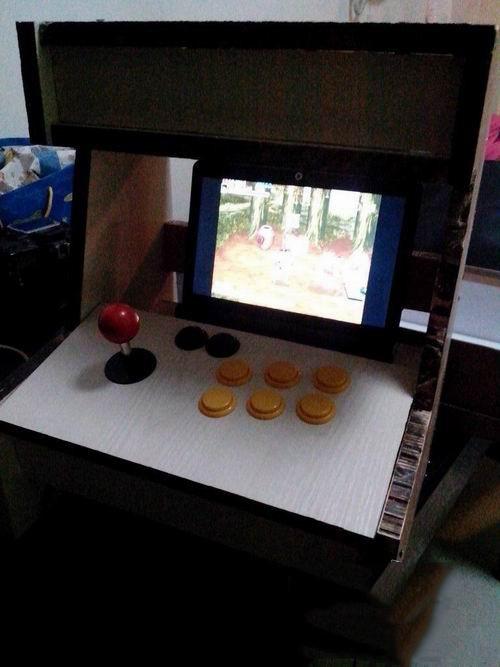 游戏发烧友150元的逆袭!废旧门板打造家用机