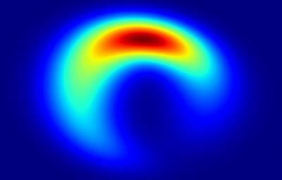 像月牙?科学家制作首张黑洞相片