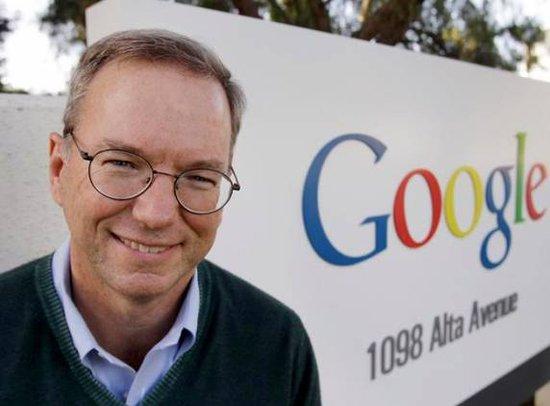 谷歌施密特CEO谈互联网的利与弊