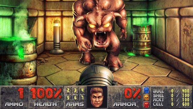 Crazy Guy Remasters 320x240 Doom Screenshot Into Stunning 9600x7211-Pixel Photoshop