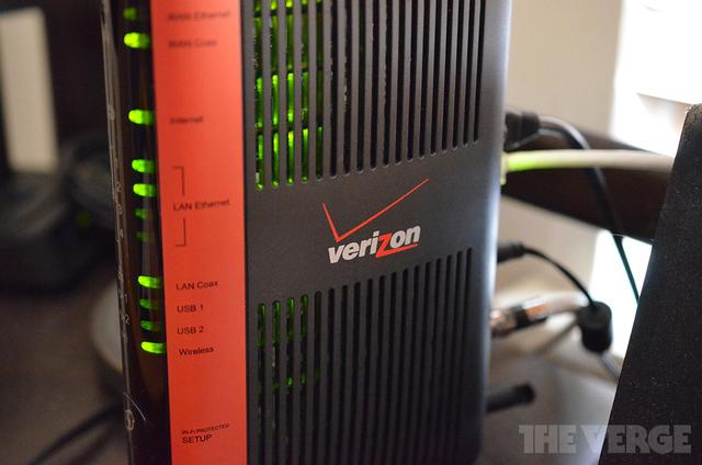 Verizon FiOS router logo
