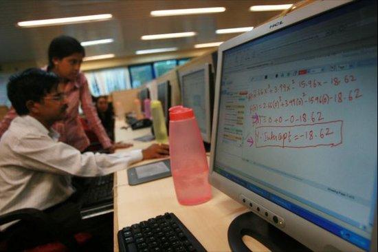 经济增长放缓 印度IT人员面临转型