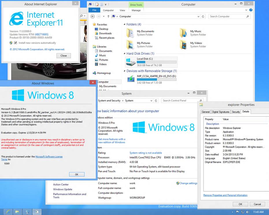 Windows Blue build 9369