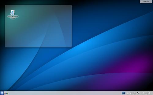 Kubuntu 1304 desktop