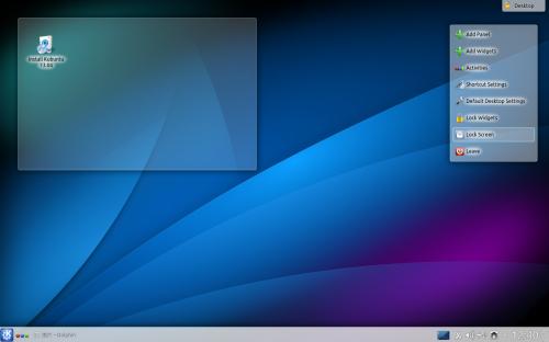 Kubuntu 1308 desktop set