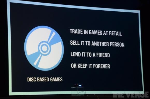 索尼不会限制二手PS4游戏光碟。此举直指微软家的Xbox One。